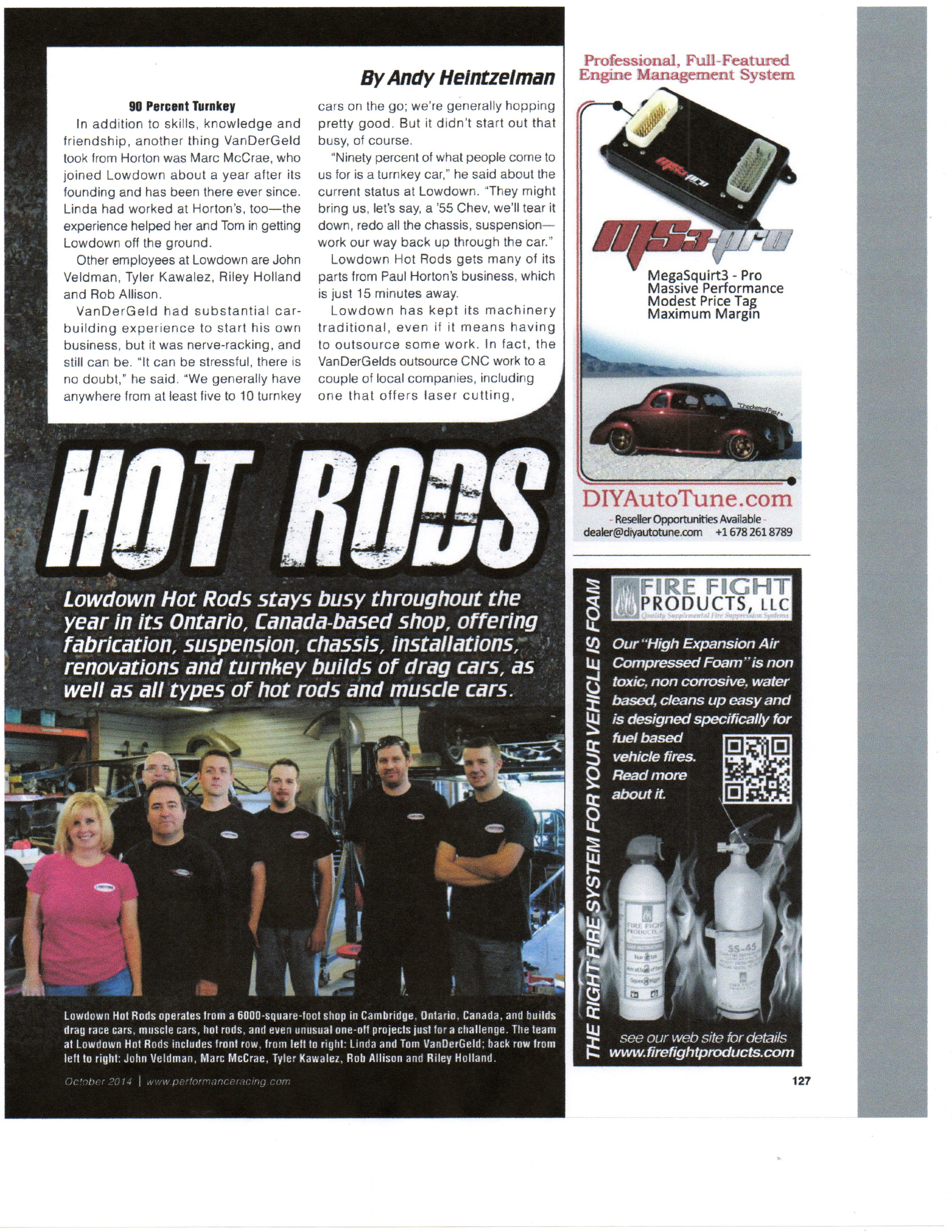 Lowdown Hot Rods - Hot Rod and Race Car Fabricating